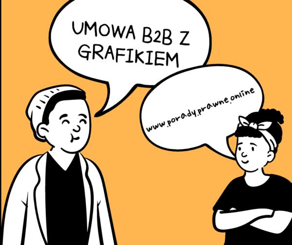 umowa B2B z grafikiem