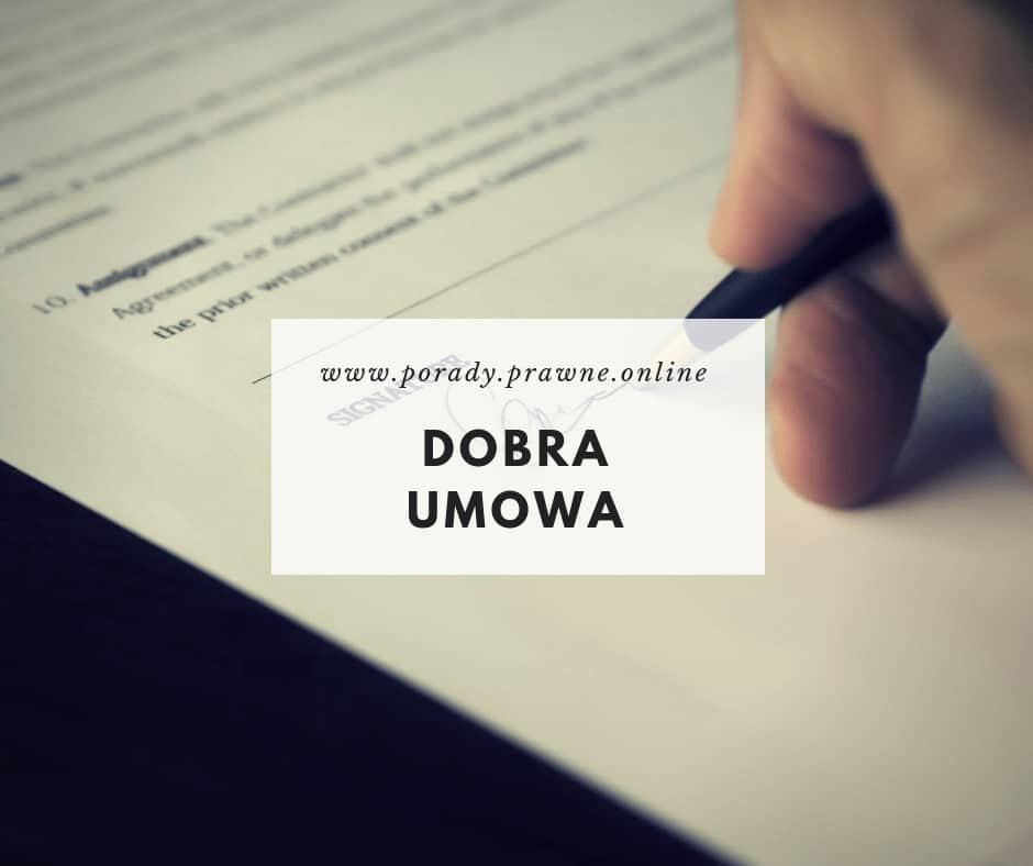 wzór umowy
