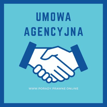 Wzór umowy agencyjnej